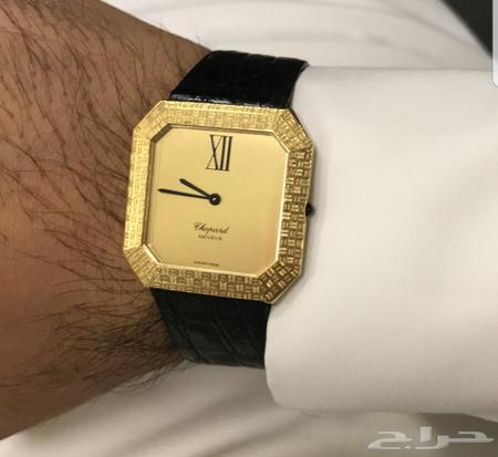 d829194de للبيع ساعة شوبارد ذهب كامل