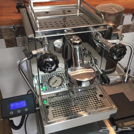 حراج الأجهزة مكينة قهوة اسبريسو Rocket R 60v
