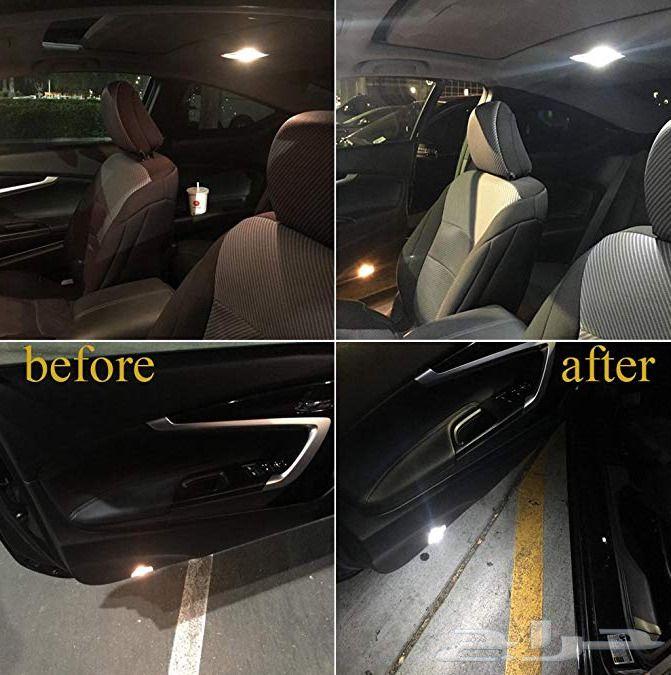 لمبات ليد داخلي للسيارات .. ضمان وتوصيل مجاني