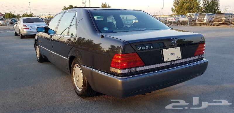 شبح جديد مخزن وارد اليابان 1992 حجم 500SEL