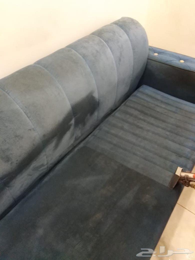 تنظيف مفروشات بالبخار بجدة شركة غسيل مفروشات