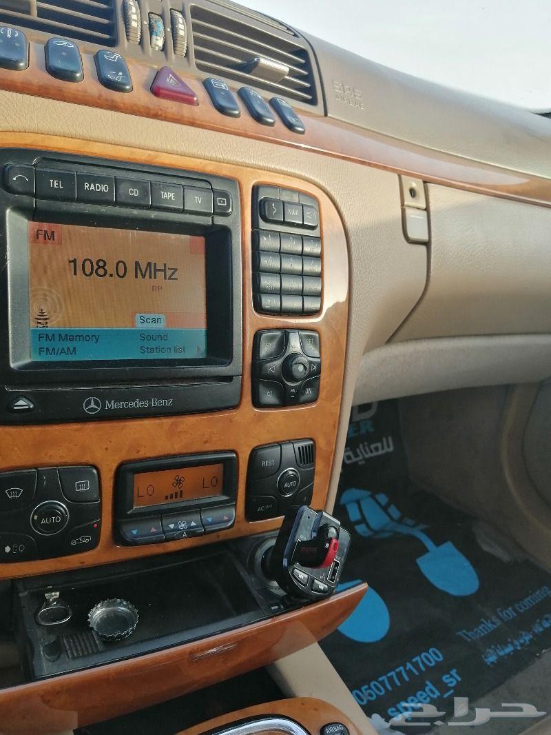 مرسيدس 2001 s500