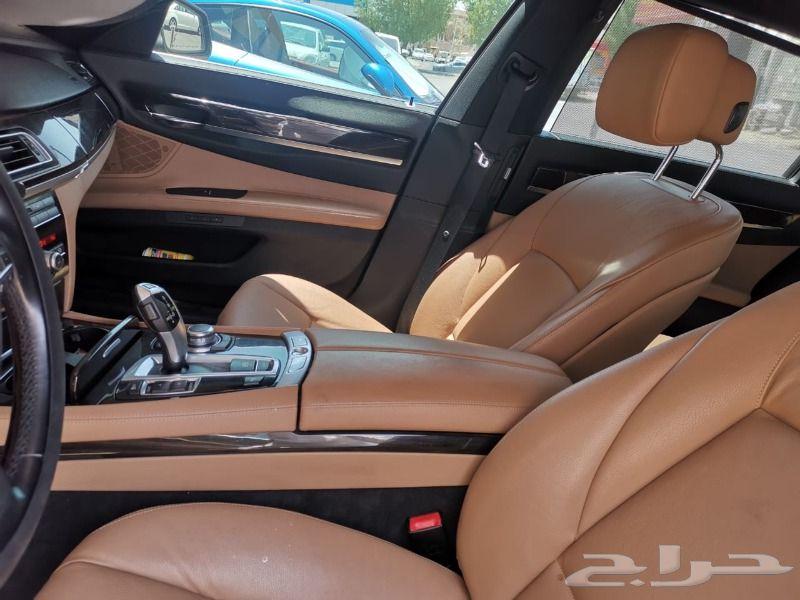 بي ام دبليو BMW 730LI 2012 كحلي نزلنا الحد