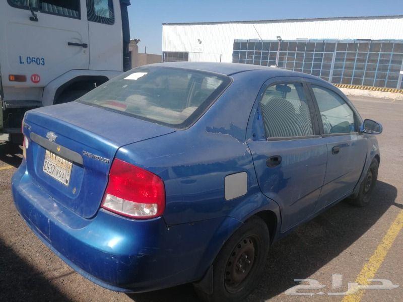 سيارة افيو موديل 2005 للبيع
