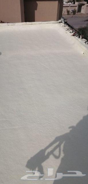 كشف تسربات المياه عزل فوم مائي حراري رش مبيد