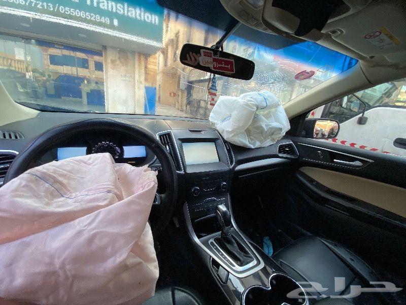 فورد ايدج 2016 مصدومة للبيع