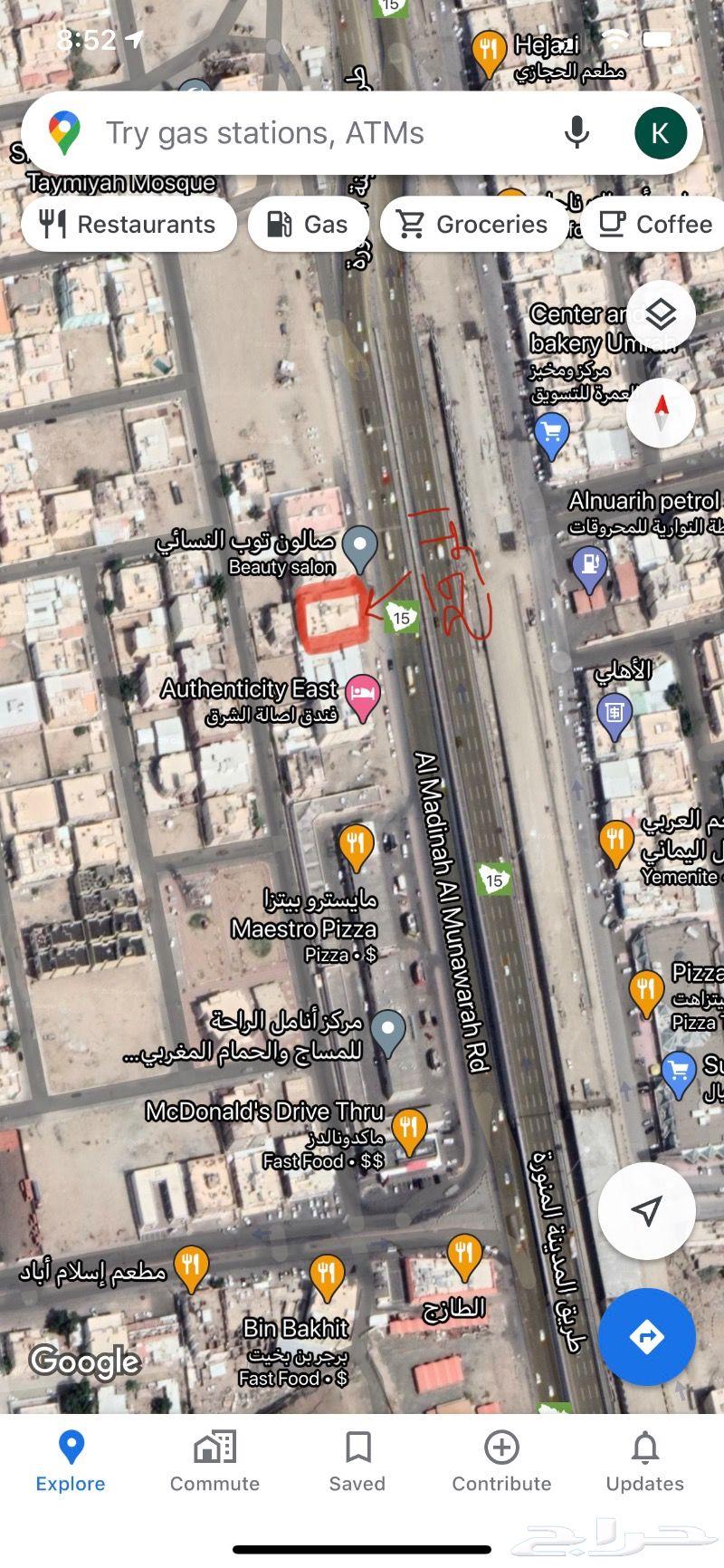 عماره للبيع مكه المكرمة مخطط العمرة الجديدة