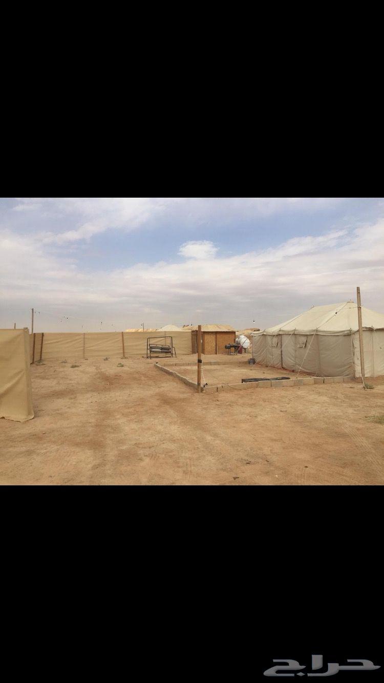 مخيم للايجار شمال الرياض