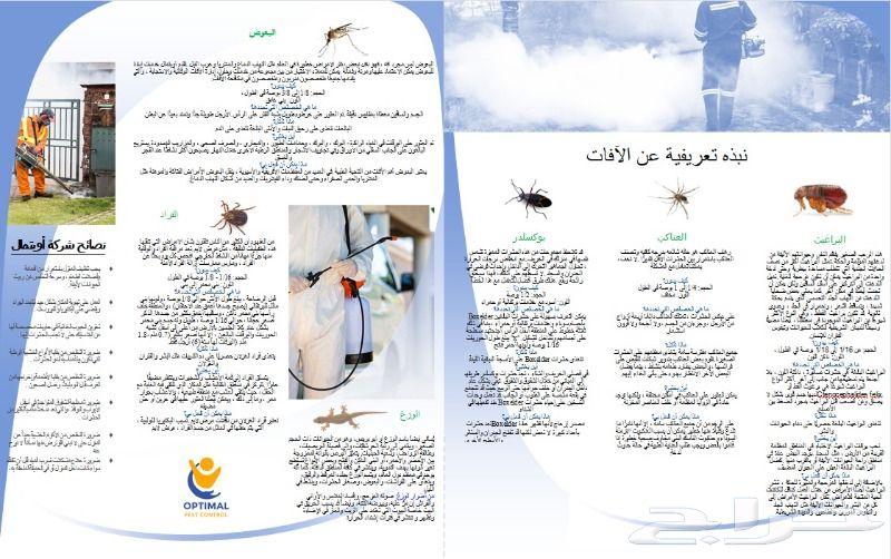 شركة الأختيار الأمثل لمكافحة الحشرات