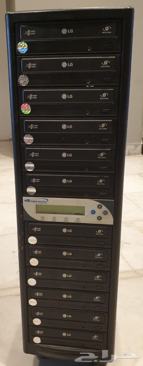 جهاز نسخ إسطوانات دي في دي - CD او DVD