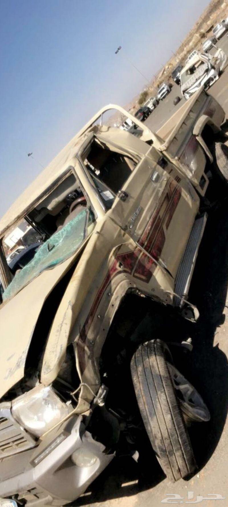 شاص 2013 مقلوب مصدوم ( مبيوع)
