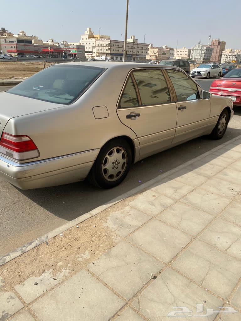 مرسيدس موديل 1999 S420 قابلة لتفاوض يابانية