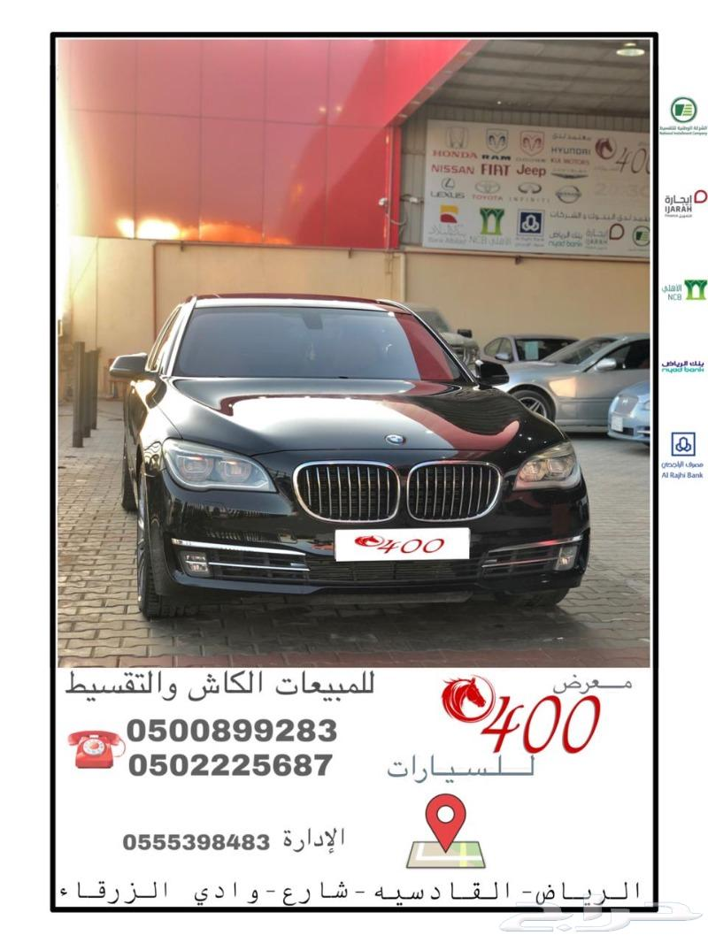 B- M- W -سعودي-الناغي L I - 740- موديل - 2014