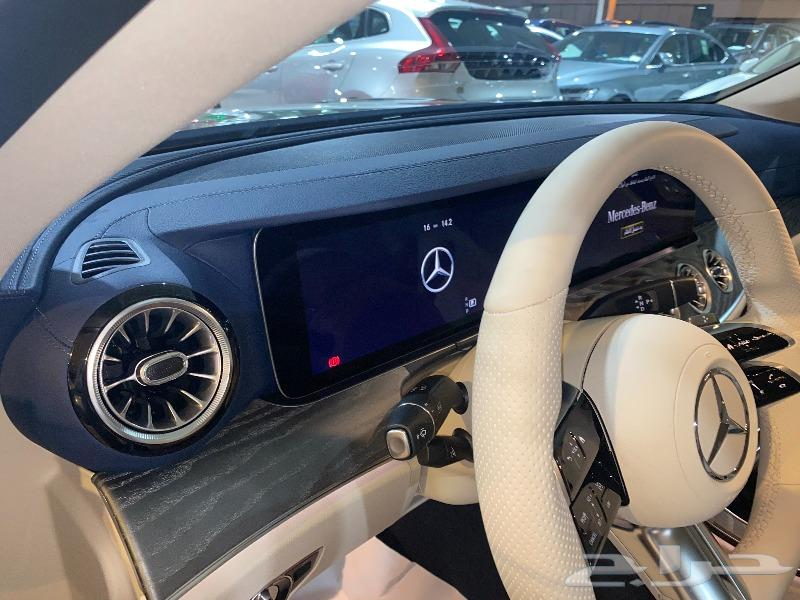مرسيدس E200 coupe 2021 جفالي