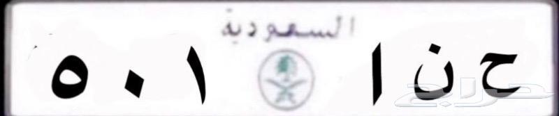 لوحه مميزه للبيع  ح ن ا 501