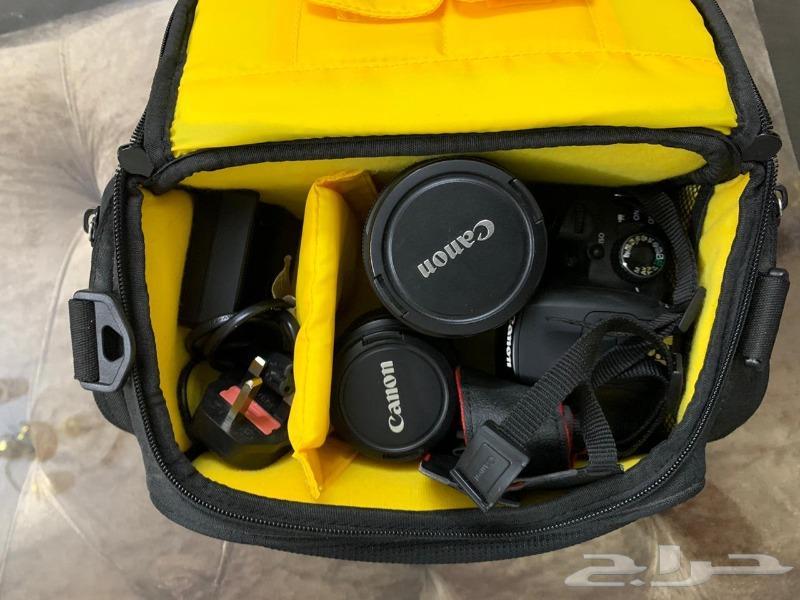 للبيع كاميرا كانون D650 مع عدسه وايد