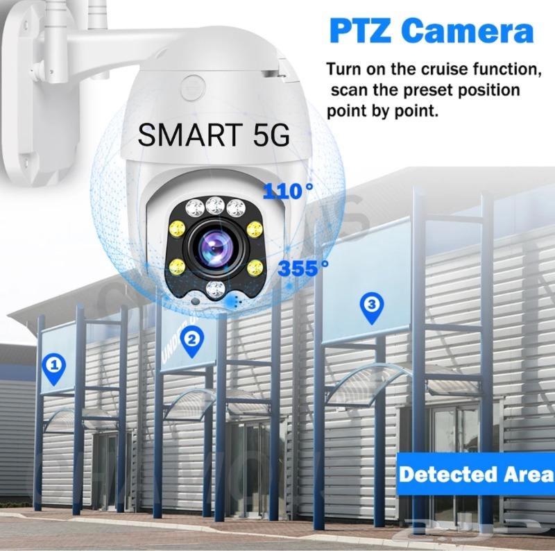 كاميرا لاسلكية متحركة دقة 5ميجا مع زوم تكبير