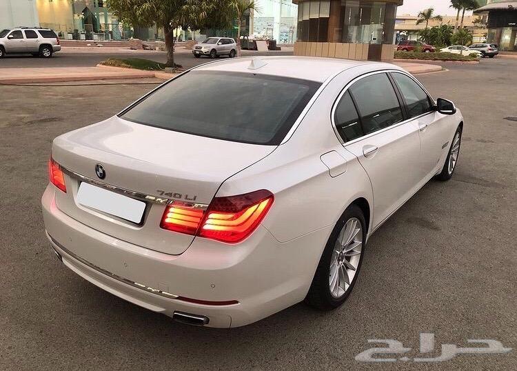 BMW 740 Li 2014