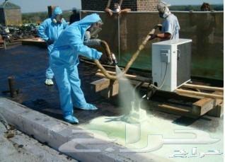 كشف تسربات المياه عزل خزانات