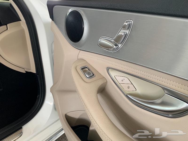 مرسيدس C300 شد بلد نظافة عالية جدا سعر خاص