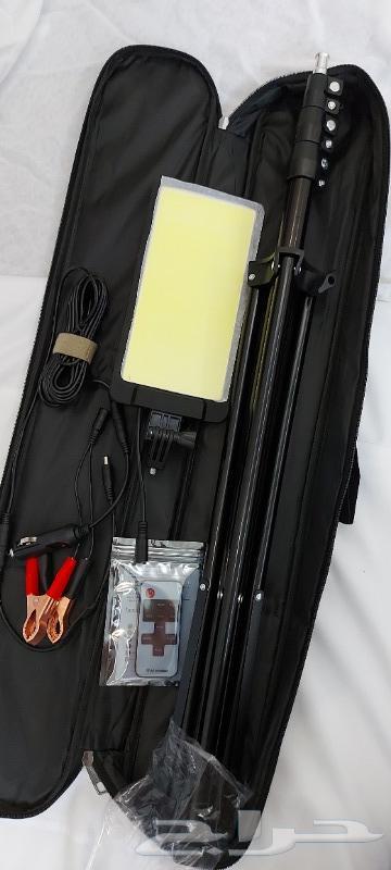 لمبة سنارة ليد مع قاعدة ثلاثية للرحلات