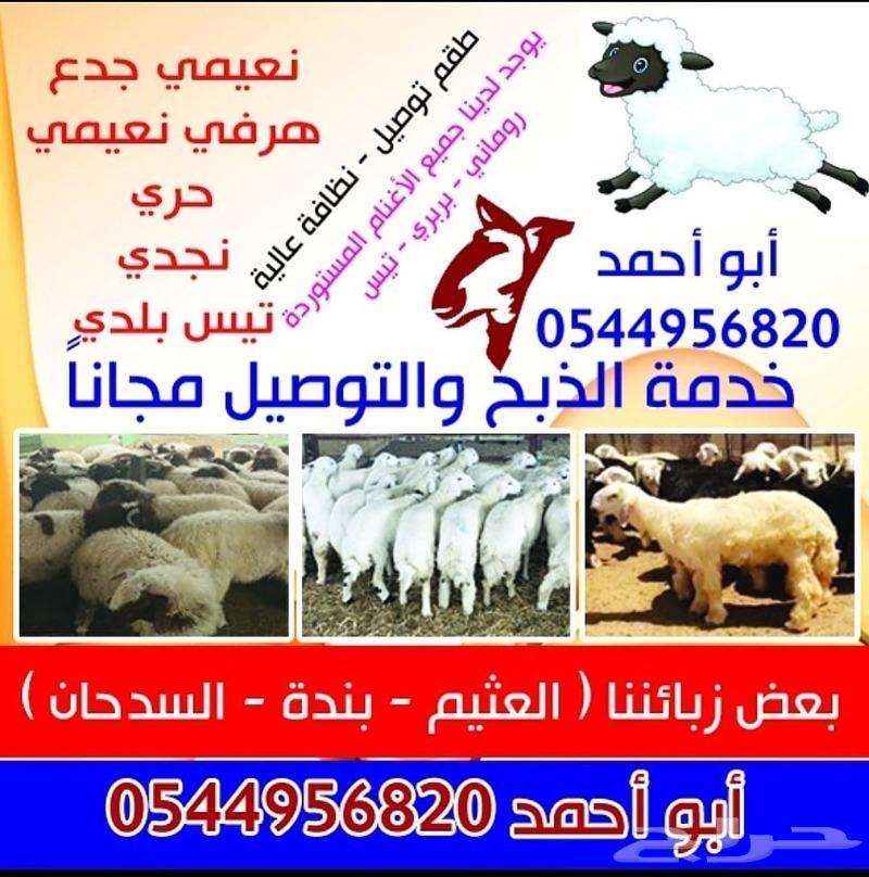 ذبايح وأغنام ابو أحمد