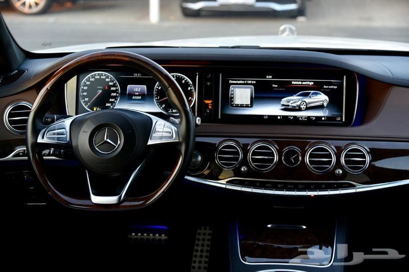 مرسيدس S500 AMG خليجي فول 2017 وكالة 248 الف