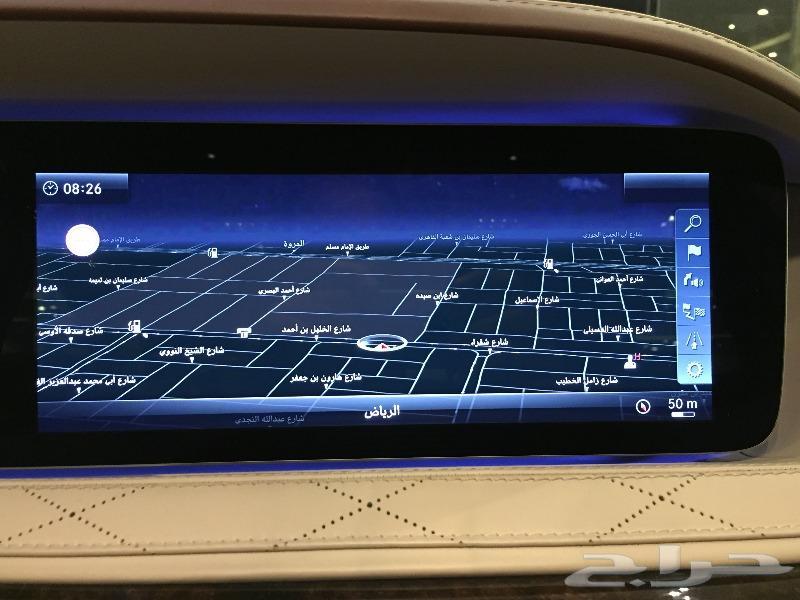 مرسيدس S 450 موديل 2018 دايموند