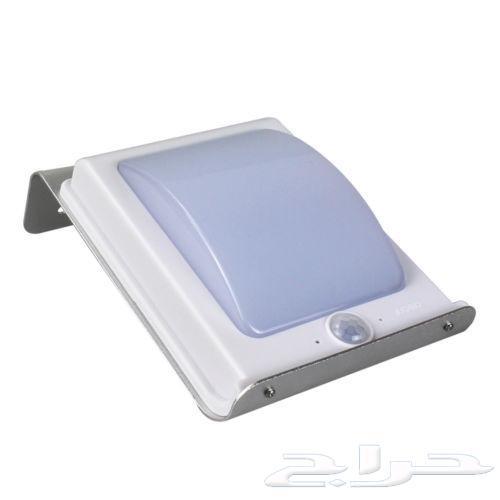 اضاءةبالطاقة الشمسية ومكبر لشاشة الجوال