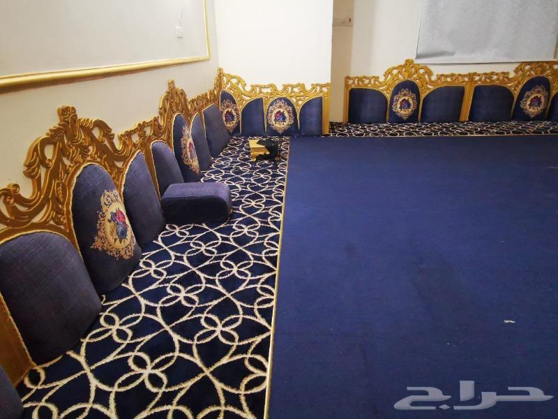 غرفة تركي نظيفه 6 قطع كنب مجلس ملكي