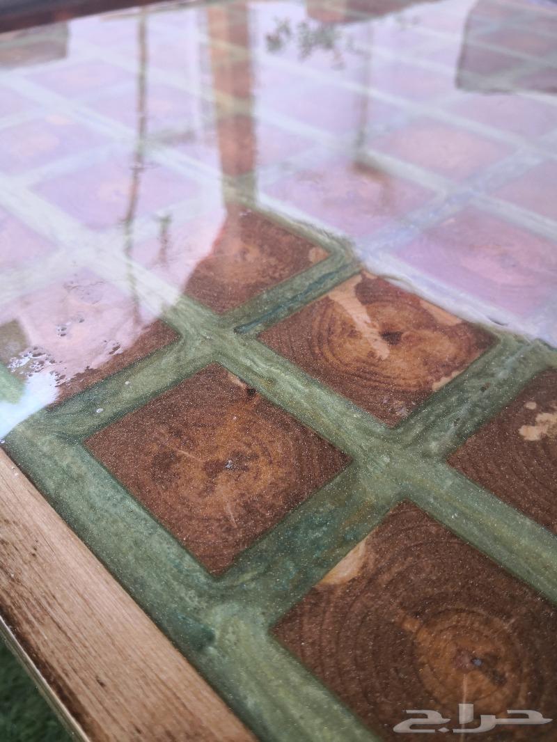 تفصيل جلسات خارجية طاولات ركن قهوة جزامات