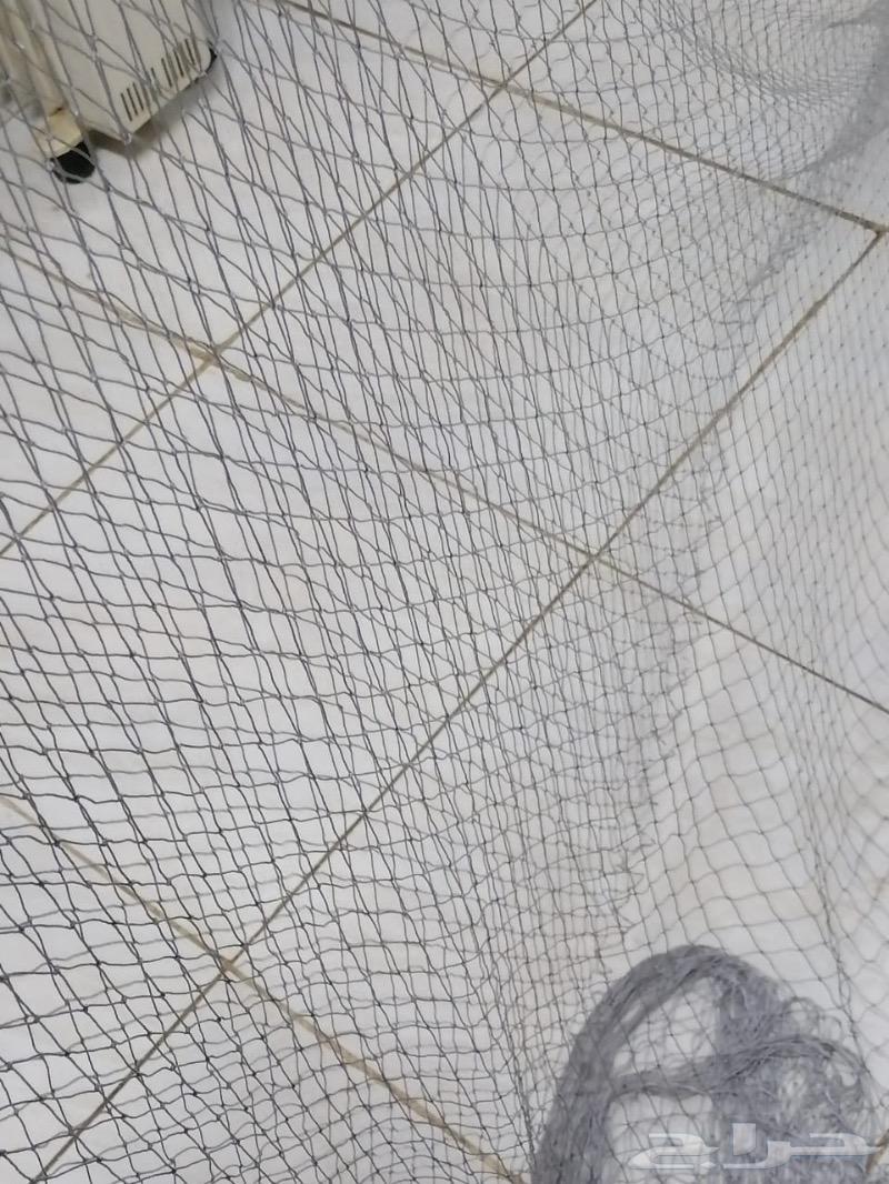 اجود انواع الشبكات لصيد الاسماك والطيور