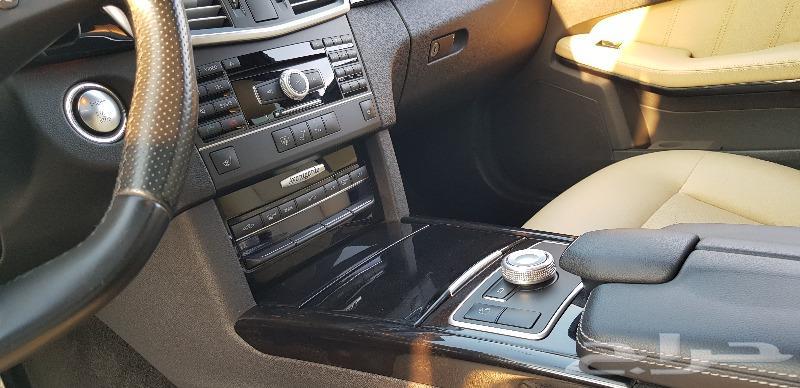 مرسيدس E350 AMG KIT موديل 2011 بحالة الوكاله