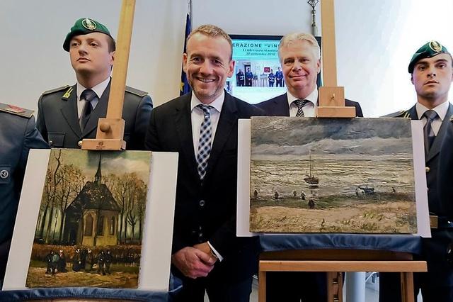 Tornano in Olanda i due Van Gogh ritrovati a Castellammare