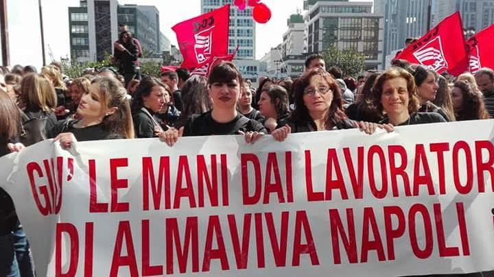 Almaviva,accordo su rilancio sito Napoli