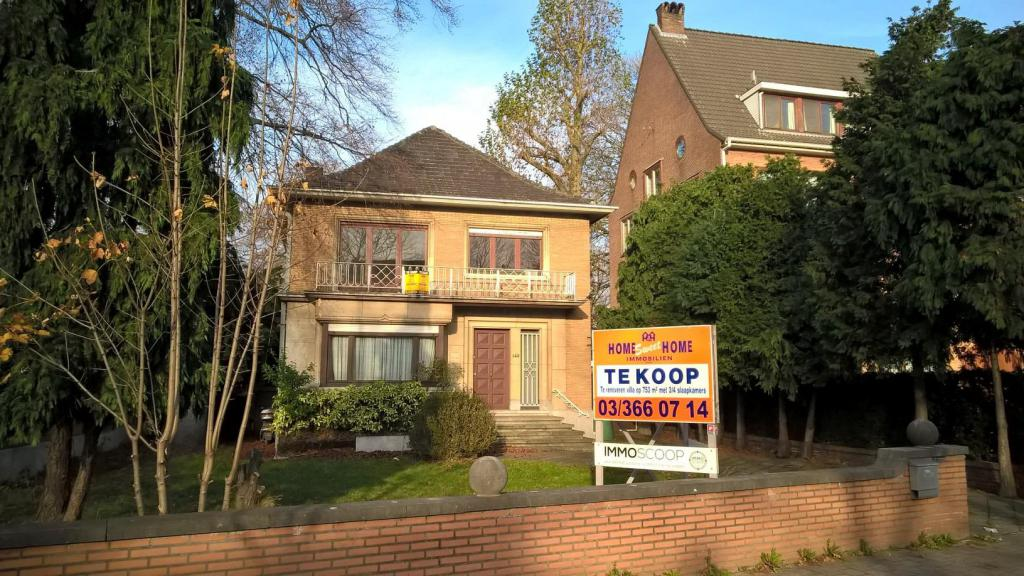 Woning te koop herentalsebaan 143 in 2100 deurne ref for Antwerpen huis te koop