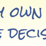 Affirmation – I trust my own ability to make decisions