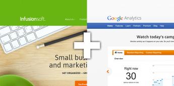 infusionsoft google analytics