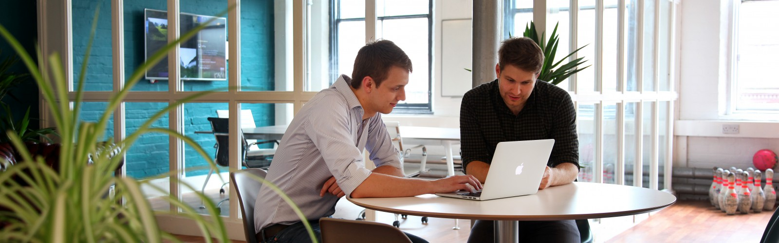 Impression founders Aaron Dicks (left) and Tom Craig