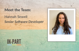 Senior Software Developer - Hannah Sewell - IN-PART Blog - Blog footer