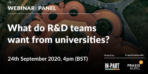 Mobilising university-industry collaboration - IN-PART Blog - Webinar 5