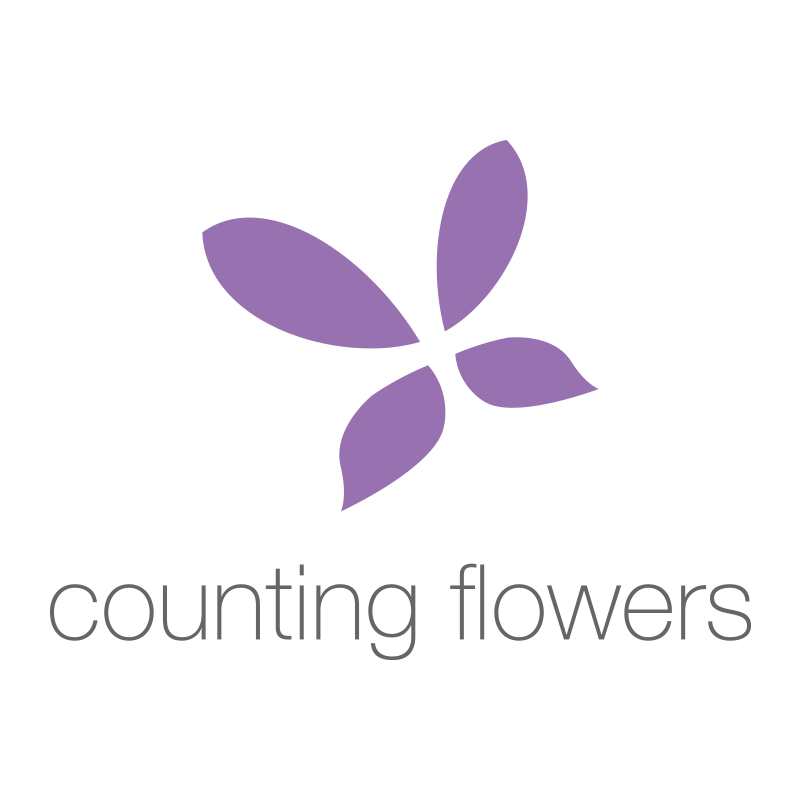 Counting Flowers logo
