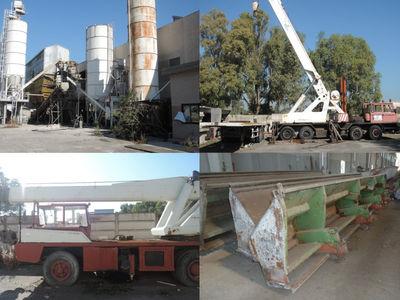 Lavoración de concreto y máquinas de hormigón - Subasta 1011
