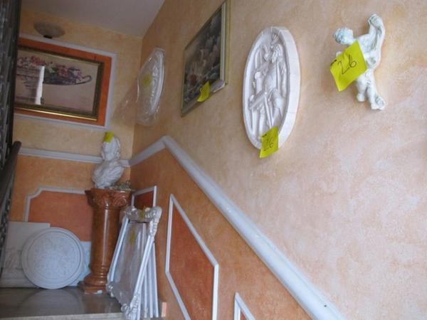 26#1082 Elementi decorativi in polistirolo e gesso