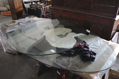 Lotto piani in vetro per tavolo for Piani artigiani per lotti stretti