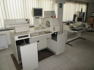 Plotter HP and analogic scanner plant - Auction 1138