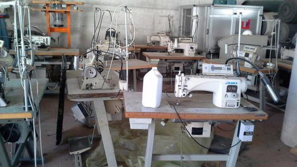 Lotto N.13 Macchine da cucire JUKI e PEGASUS e altro 664f13793172