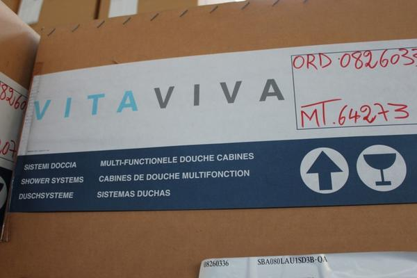 Lotto Box doccia su bancali Vitaviva MT64273