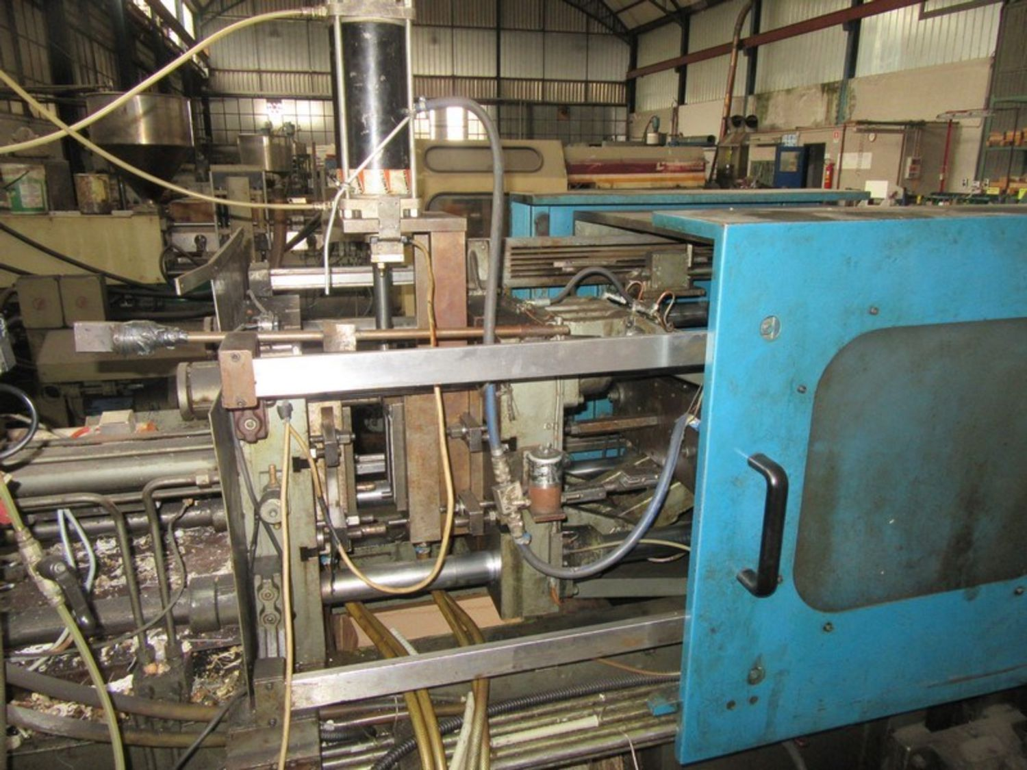 injection molding machine auction