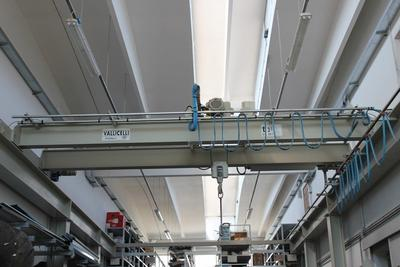 Piattaforma semovente e carroponte Vallicelli - Asta 13760